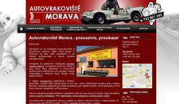  Autovrakovit Morava Olomouc  Tvorba webovch strnek