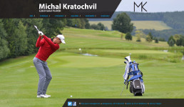 Michal Kratochvil golf player